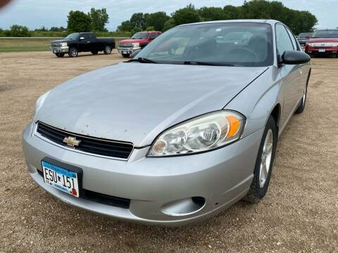 2007 Chevrolet Monte Carlo for sale at RDJ Auto Sales in Kerkhoven MN