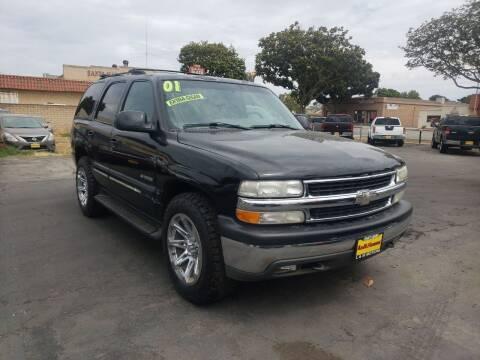 2001 Chevrolet Tahoe for sale at L & M MOTORS in Santa Maria CA