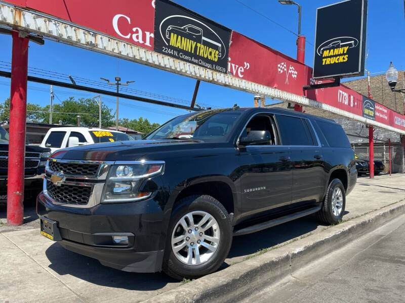 2015 Chevrolet Suburban for sale at Manny Trucks in Chicago IL
