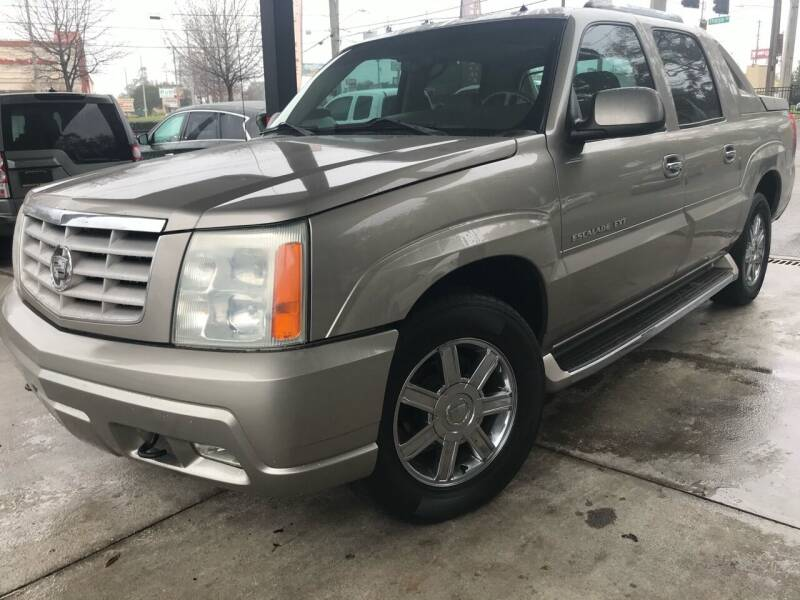 2002 Cadillac Escalade EXT for sale at Michael's Imports in Tallahassee FL