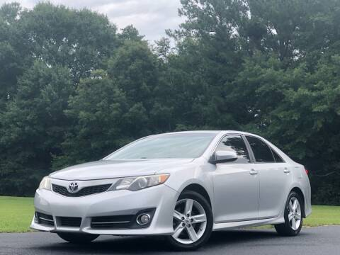 2012 Toyota Camry for sale at Global Pre-Owned in Fayetteville GA