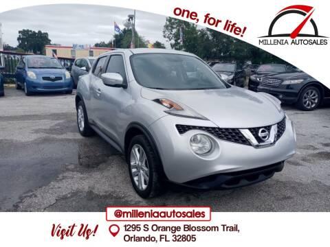2016 Nissan JUKE for sale at Millenia Auto Sales in Orlando FL