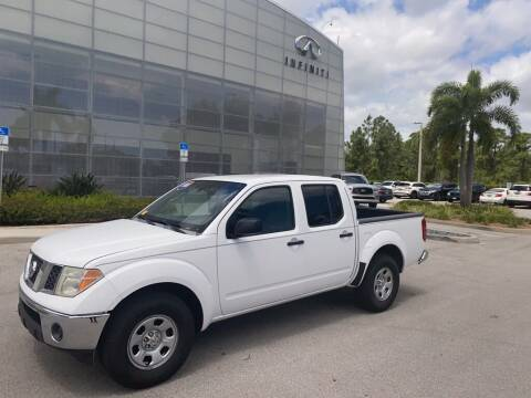 2008 Nissan Frontier for sale at Infiniti Stuart in Stuart FL