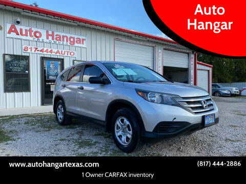 2013 Honda CR-V for sale at Auto Hangar in Azle TX