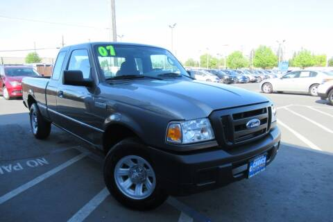2007 Ford Ranger for sale at Choice Auto & Truck in Sacramento CA