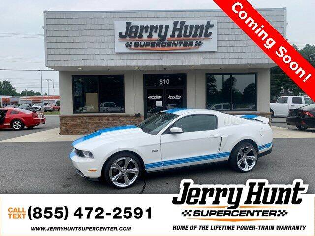 2011 Ford Mustang for sale at Jerry Hunt Supercenter in Lexington NC