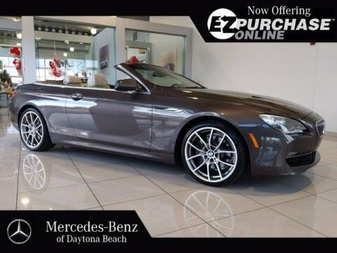 2014 BMW 6 Series for sale at Mercedes-Benz of Daytona Beach in Daytona Beach FL