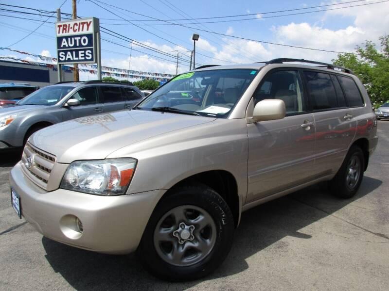 2005 Toyota Highlander for sale at TRI CITY AUTO SALES LLC in Menasha WI