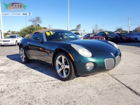 2007 Pontiac Solstice for sale at GATOR'S IMPORT SUPERSTORE in Melbourne FL