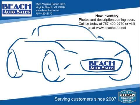 2011 Nissan Titan for sale at Beach Auto Sales in Virginia Beach VA