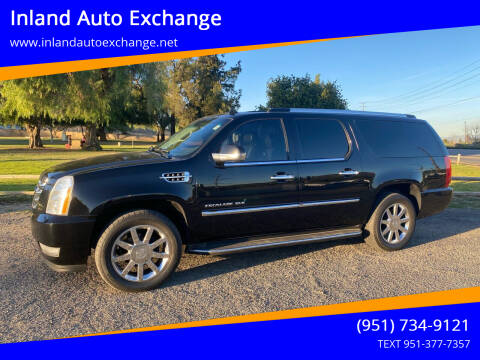 2011 Cadillac Escalade ESV for sale at Inland Auto Exchange in Norco CA