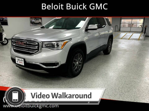 2018 GMC Acadia for sale at Beloit Buick GMC in Beloit KS