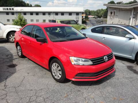 2015 Volkswagen Jetta for sale at HAPPY TRAILS AUTO SALES LLC in Taylors SC