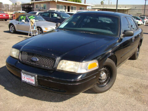 2001 Ford Crown Victoria for sale at L.A. Motors in Azusa CA