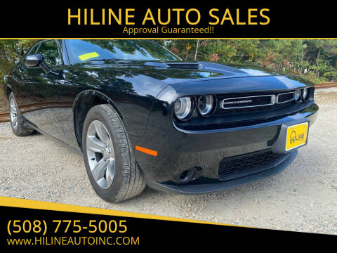 2019 Dodge Challenger for sale at HILINE AUTO SALES in Hyannis MA