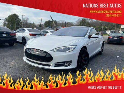 2015 Tesla Model S for sale at Nations Best Autos in Decatur GA