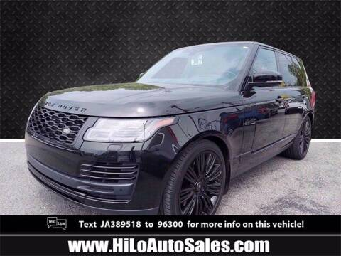 2018 Land Rover Range Rover for sale at Hi-Lo Auto Sales in Frederick MD