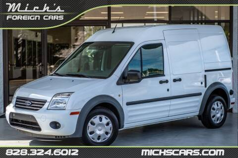2012 Ford Transit Connect for sale at Mich's Foreign Cars in Hickory NC