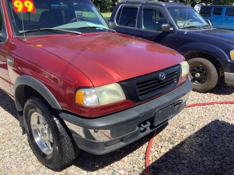 1999 Mazda B-Series Pickup for sale at Moose Motors in Morganton NC