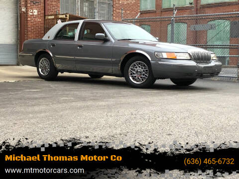 2000 Mercury Grand Marquis for sale at Michael Thomas Motor Co in Saint Charles MO