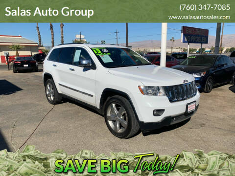 2013 Jeep Grand Cherokee for sale at Salas Auto Group in Indio CA