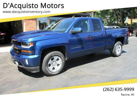 2017 Chevrolet Silverado 1500 for sale at D'Acquisto Motors in Racine WI