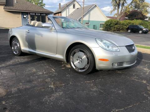 2003 Lexus SC 430 for sale at MARK CRIST MOTORSPORTS in Angola IN