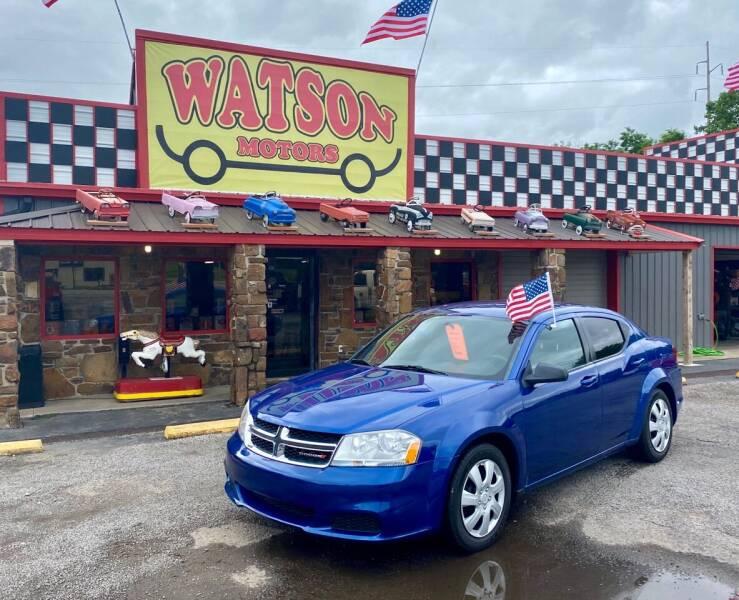 2014 Dodge Avenger for sale at Watson Motors in Poteau OK