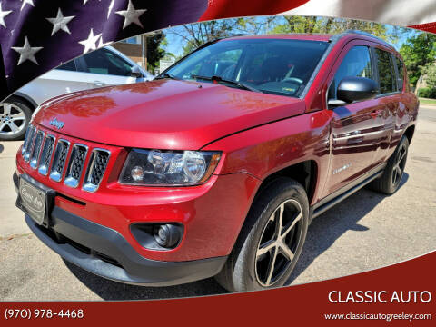 2014 Jeep Compass for sale at Classic Auto in Greeley CO