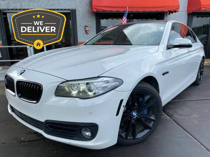 2014 BMW 5 Series for sale at LATINOS MOTOR OF ORLANDO in Orlando FL