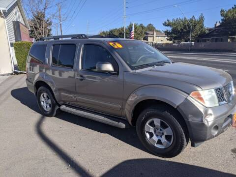 2006 Nissan Pathfinder for sale at Progressive Auto Sales in Twin Falls ID