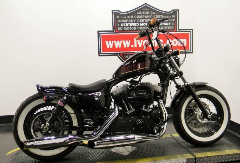 2014 Harley-Davidson SPORTSTER 48 for sale at Certified Motor Company in Las Vegas NV