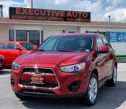 2015 Mitsubishi Outlander Sport for sale at Executive Auto in Winchester VA