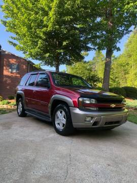 2002 Chevrolet TrailBlazer for sale at Judy's Cars in Lenoir NC