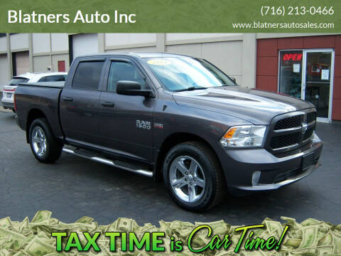 2014 RAM Ram Pickup 1500 for sale at Blatners Auto Inc in North Tonawanda NY