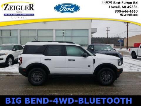 2021 Ford Bronco Sport for sale at Zeigler Ford of Plainwell- michael davis in Plainwell MI