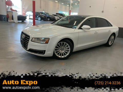 2016 Audi A8 L for sale at Auto Expo in Las Vegas NV
