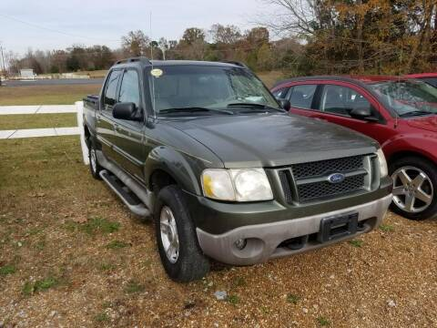 2002 Ford Explorer Sport Trac for sale at Scarletts Cars in Camden TN