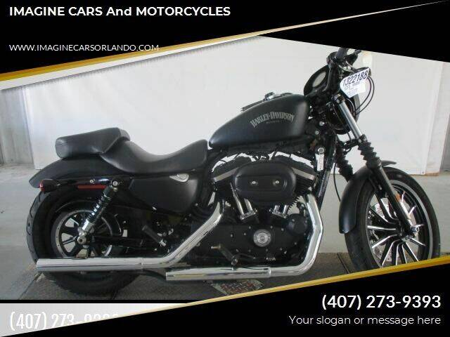 2014 Harley Davidson 883 Iron/Night rider! for sale at IMAGINE CARS and MOTORCYCLES in Orlando FL