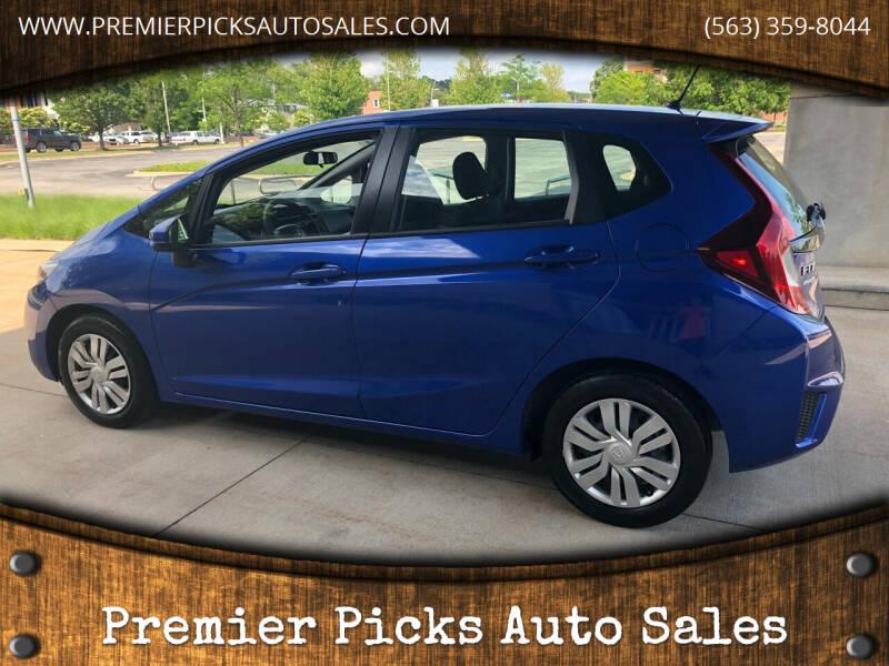 2017 Honda Fit for sale at Premier Picks Auto Sales in Bettendorf IA