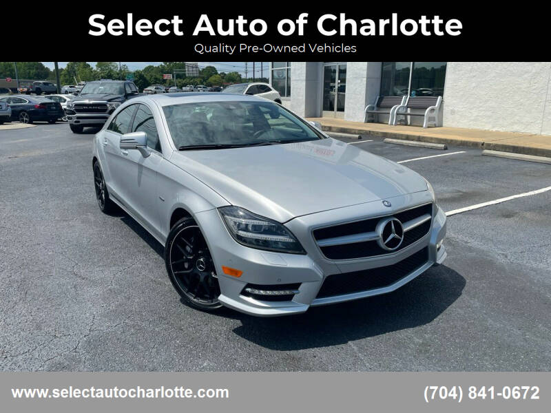 2012 Mercedes-Benz CLS for sale at Select Auto of Charlotte in Matthews NC