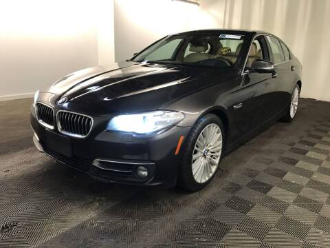 2014 BMW 5 Series for sale at MELILLO MOTORS INC in North Haven CT
