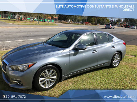 2014 Infiniti Q50 for sale at Elite Automotive Consultants & Wholesale Direct in Tallahassee FL