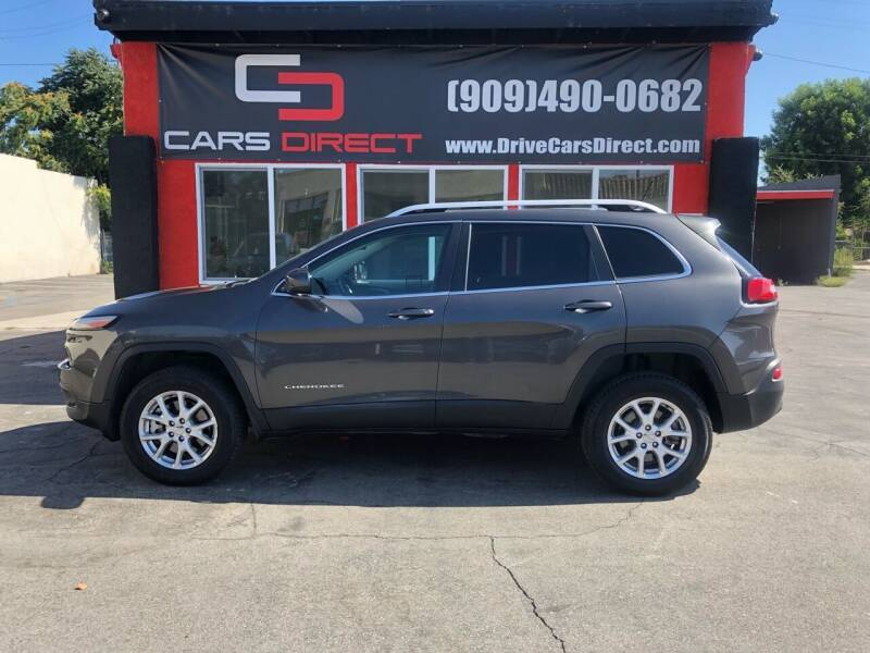 2014 Jeep Cherokee for sale at Cars Direct in Ontario CA