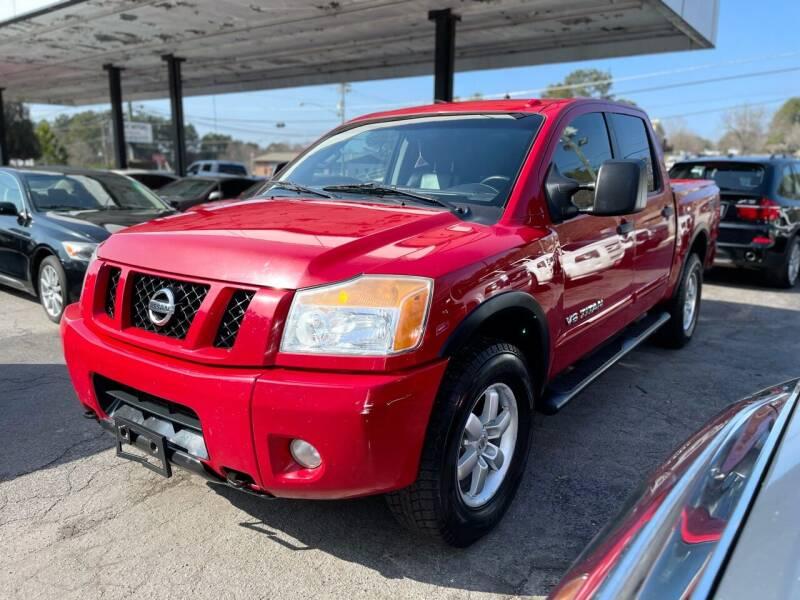 2012 Nissan Titan for sale at Magic Motors Inc. in Snellville GA