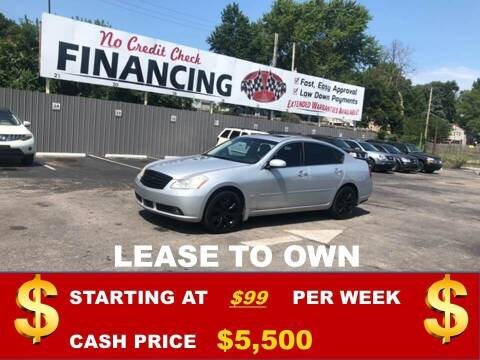 2007 Infiniti M35X for sale at Auto Mart USA in Kansas City MO