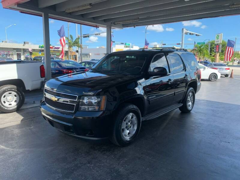 2013 Chevrolet Tahoe for sale at American Auto Sales in Hialeah FL