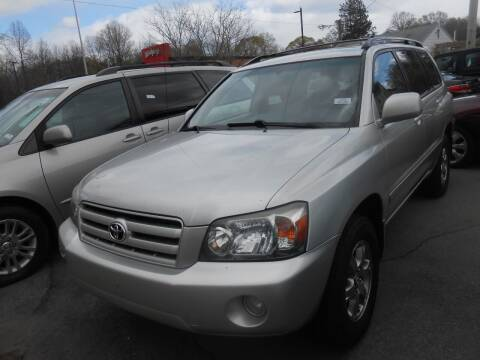 2005 Toyota Highlander for sale at N H AUTO WHOLESALERS in Roslindale MA