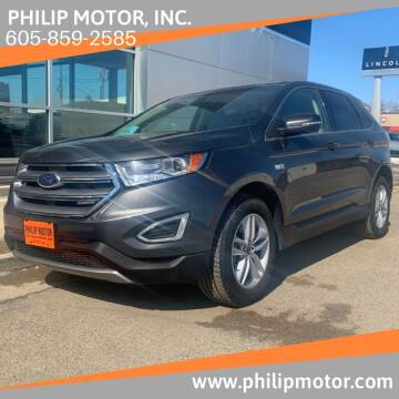 2017 Ford Edge for sale at Philip Motor Inc in Philip SD