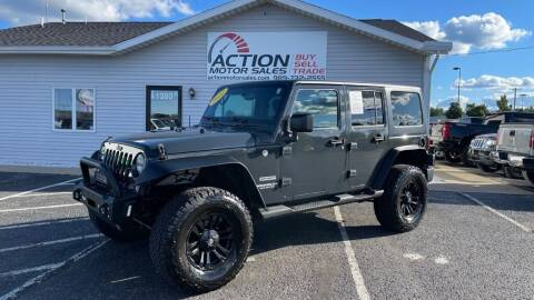 2017 Jeep Wrangler Unlimited for sale at Action Motor Sales in Gaylord MI